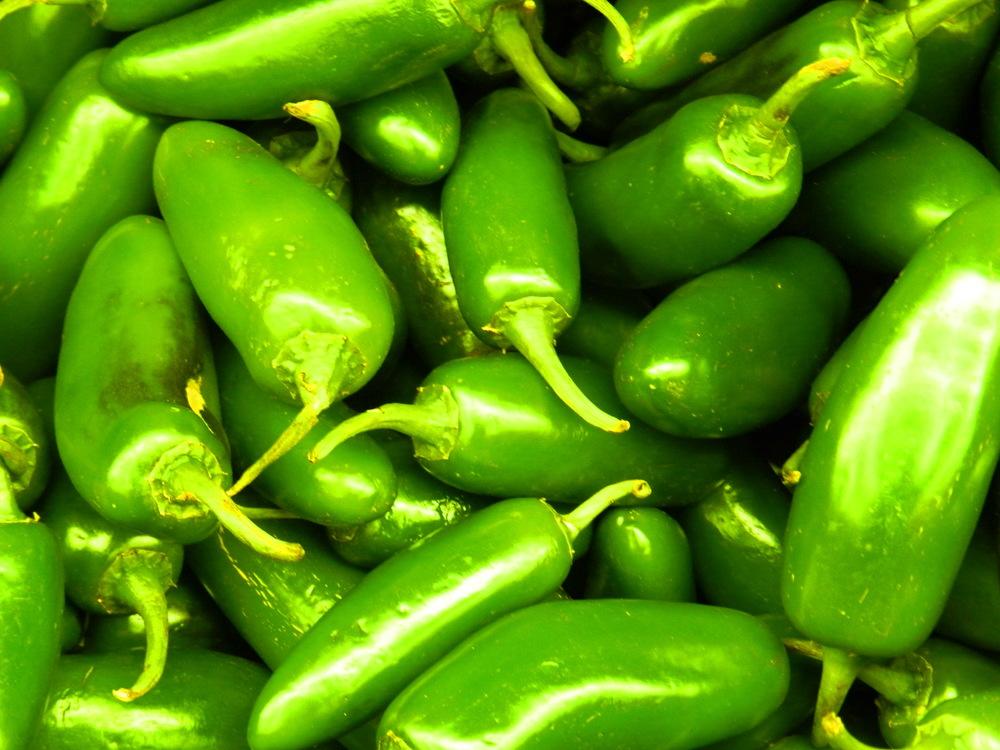 Green Jalapeño Pods 100gr