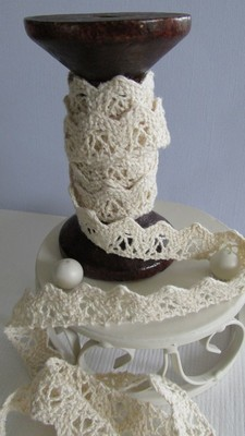 Cream Lace - 15mm