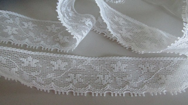White Floral Eyelash Lace