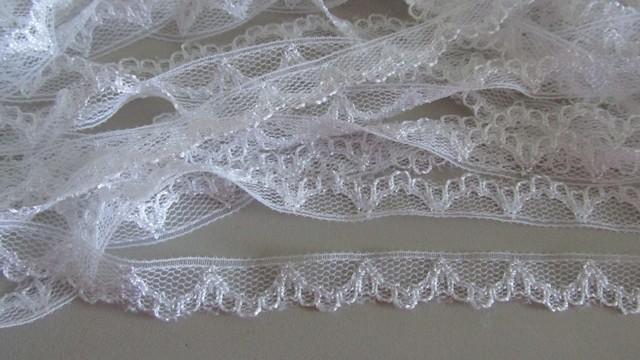 White Scallop Lace