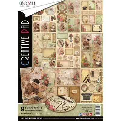 Ciao Bella THE MUSE A4 Creative Pad