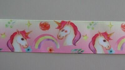 Unicorn Grosgrain Ribbon