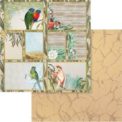 Sunburnt Country Double-Sided Paper 12x12 - Click to Select