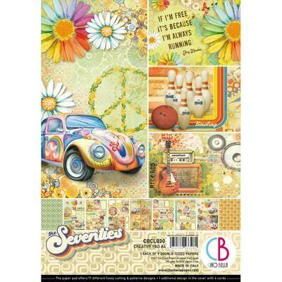 Ciao Bella THE SEVENTIES A4 Creative Pad