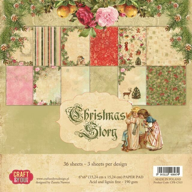 Christmas Story 6x6 paper pack