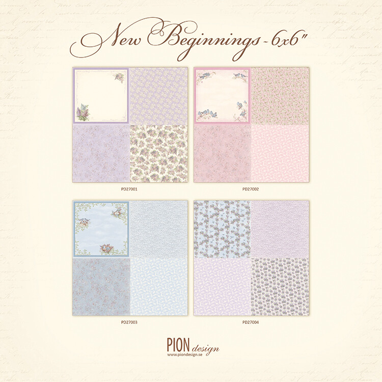 PION DESIGN New Beginnings 6x6 - Click to Select