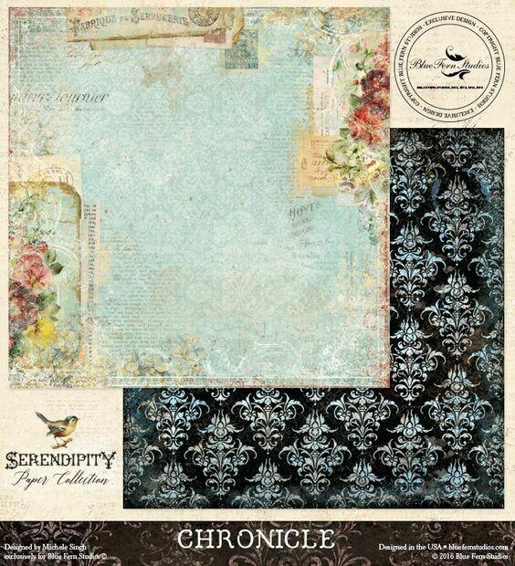 BLUE FERN STUDIOS Serendipity 12x12 - Click to Select