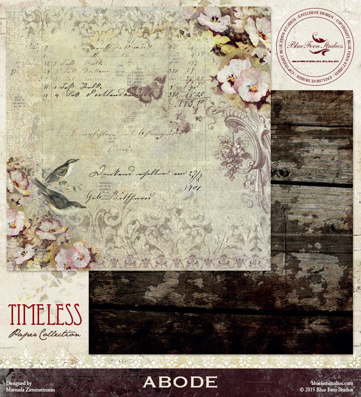 BLUE FERN STUDIOS Timeless 12x12 - Click to Select