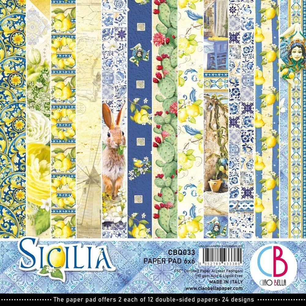 Ciao Bella SICILIA 6x6 Paper Pad