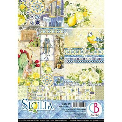 Ciao Bella SICILIA A4 Creative Pad