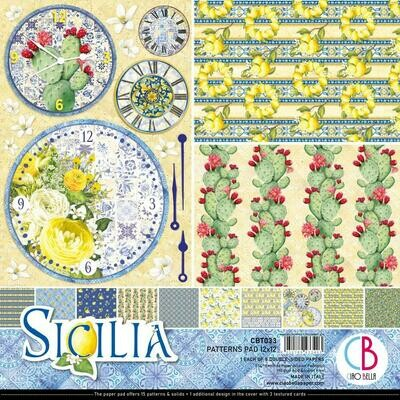 Ciao Bella SICILIA12x12 Patterns Pad