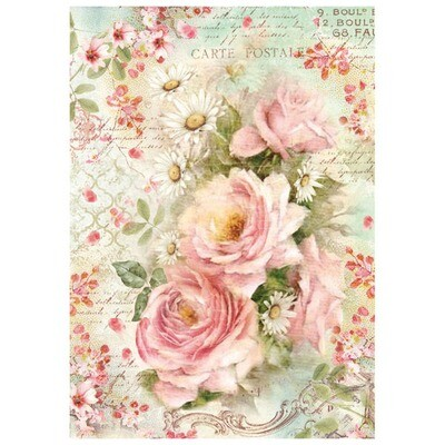 FLORALS RICE PAPER - Click to Select