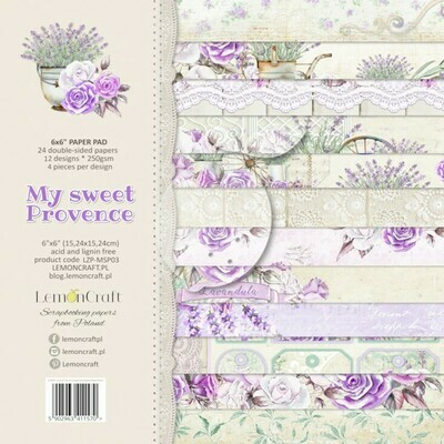 My Sweet Provence 6x6 Paper Pad