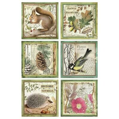 NATURE & ANIMALS RICE PAPER - Click to select