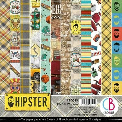 Ciao Bella HIPSTER 6x6 Paper Pad
