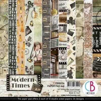 Ciao Bella MODERN TIMES  6x6 Paper Pad