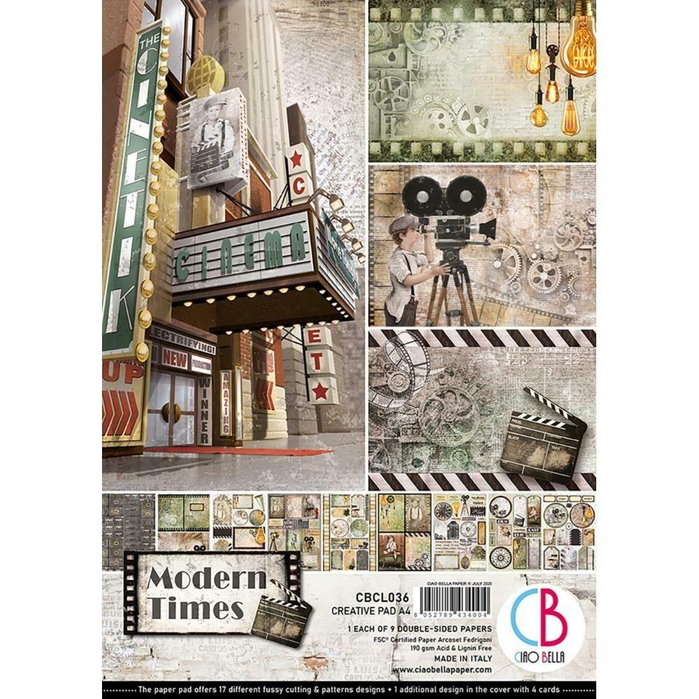Ciao Bella MODERN TIMES A4 Paper Pack