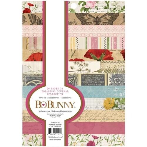 """Bo Bunny - Botanical Journal 6""""x8"""" Collection"""