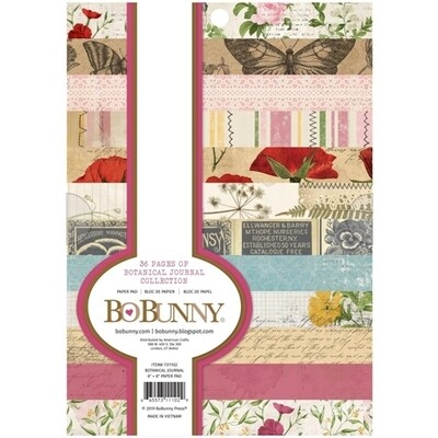 Bo Bunny - Botanical Journal 6