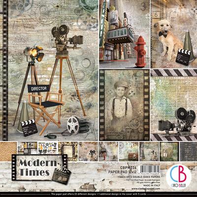 Ciao Bella MODERN TIMES 12x12 Paper Pad