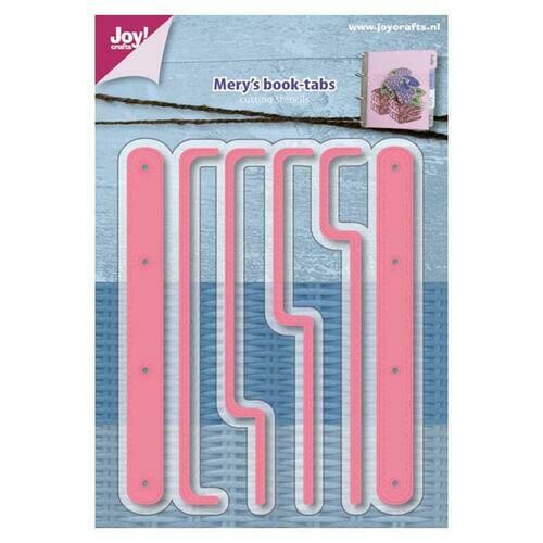 Mery's Book Tabs die set