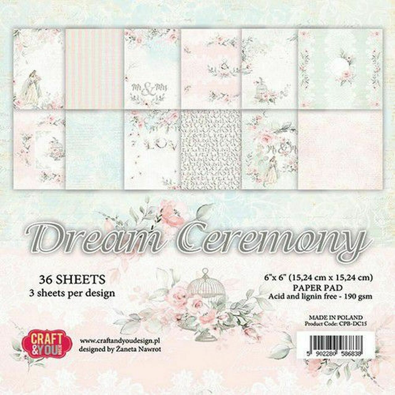 Dream Ceremony 6x6 paper pack