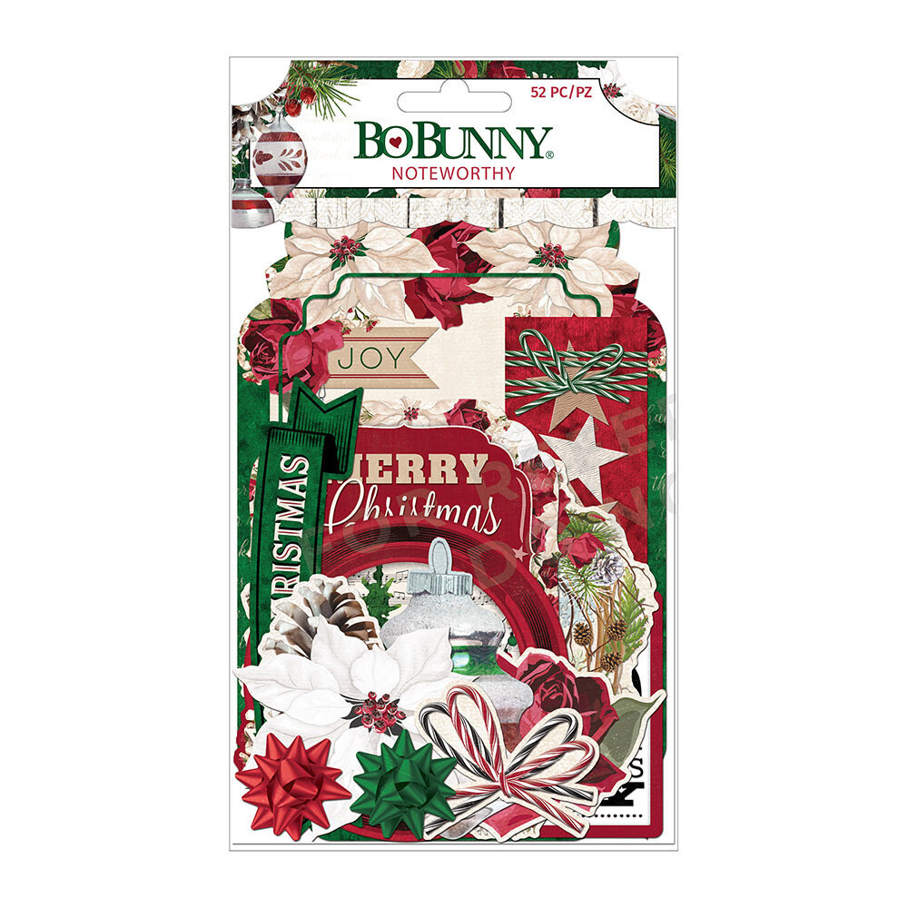 BoBunny - JOYFUL CHRISTMAS Ephemera