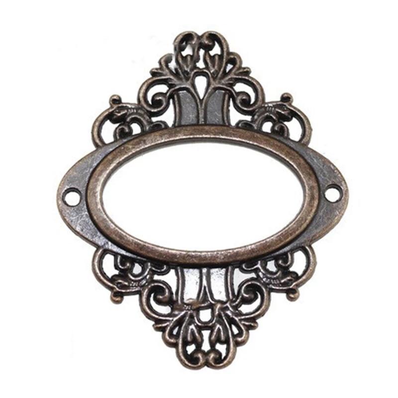 Metal Ornate Plates