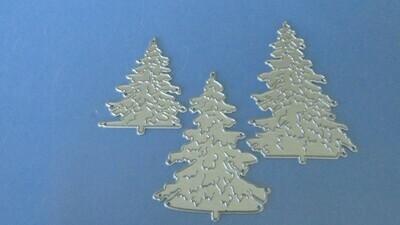 Christmas Trees die set