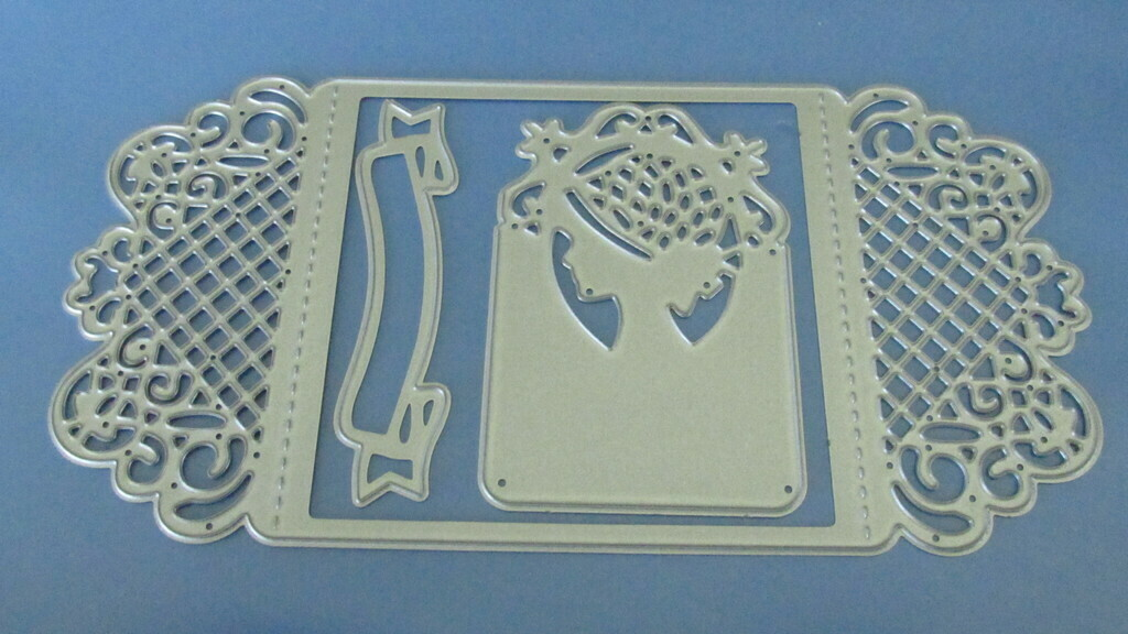 Lattice Card Fold die