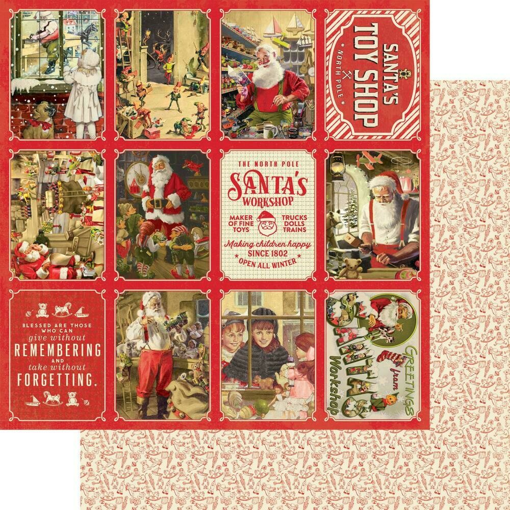 AUTHENTIQUE  A Magical Christmas Double-Sided Cardstock