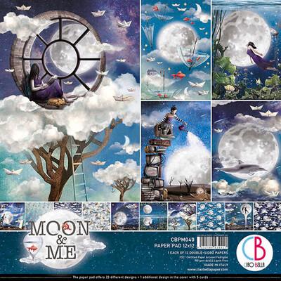 Ciao Bella MOON & ME 12X12 Paper Pad