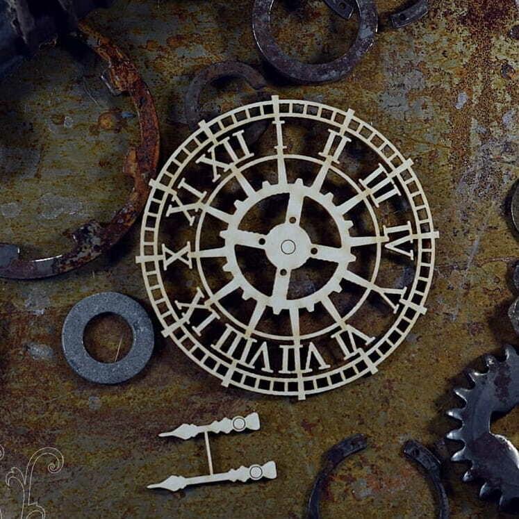 Industrial Clock Face