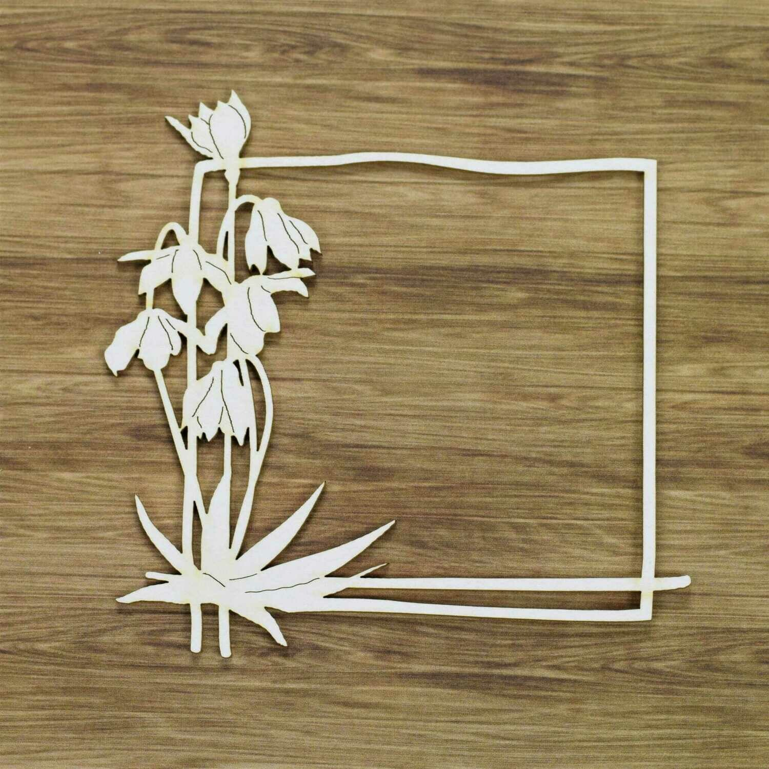 Bouquet of Snowdrops Frame