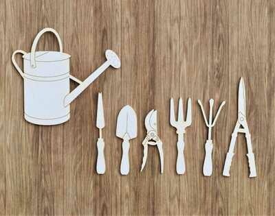 Watering Can & Garden Tools