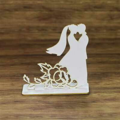 3D Bride & Groom With A Rose