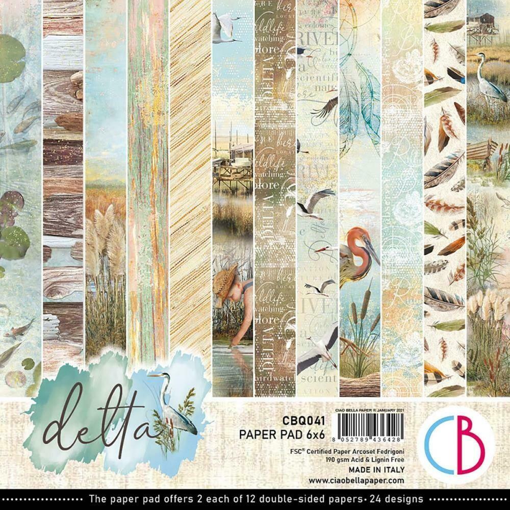 Ciao Bella DELTA 6x6 Paper Pad
