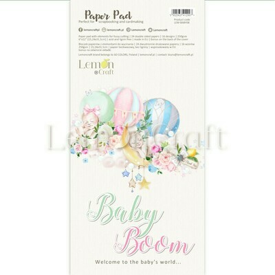 Baby Boom 12X6 Fussy Cutting Elements Collection