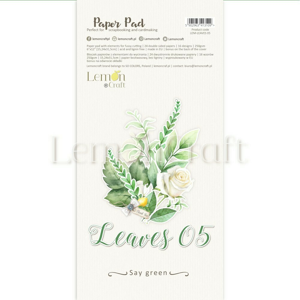 Leaves 05 - A4 Basic Paper Pad