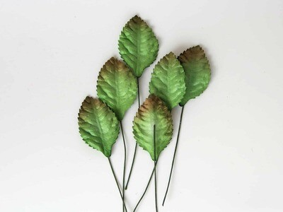 Mulberry Paper Small Rose Leaves