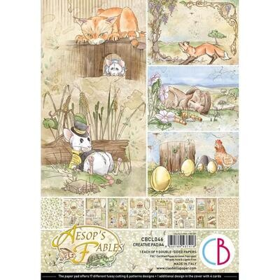 Ciao Bella AESOP'S FABLES A4 Paper Pack