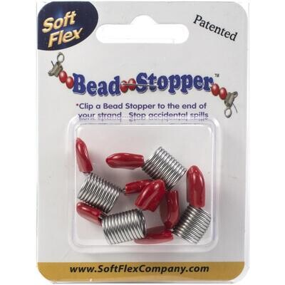 Soft Flex Bead Stoppers 4/pkg