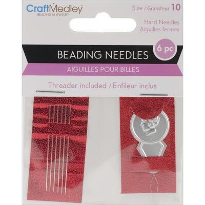 Craft Medley #10 Beading Needles