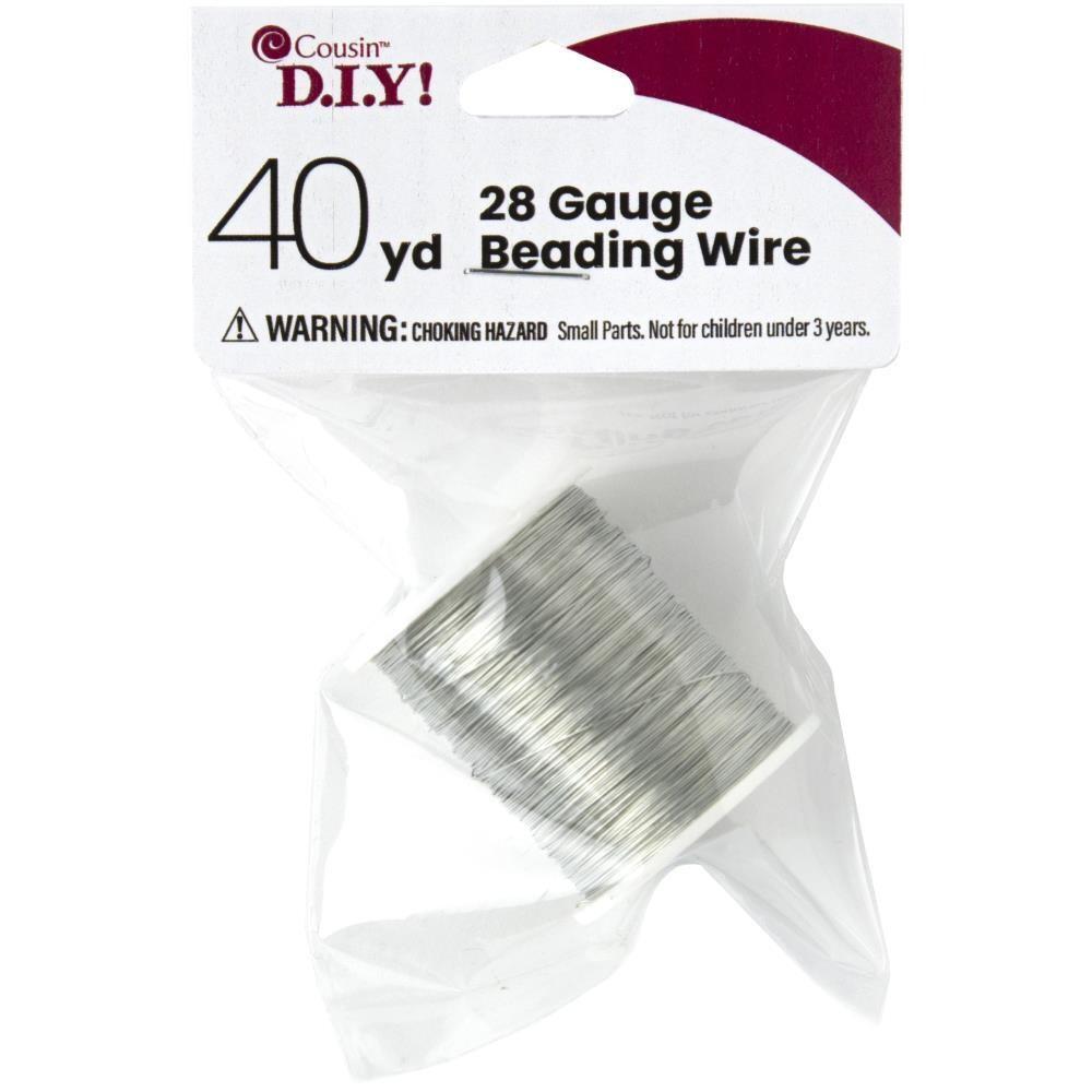 COUSIN DIY 28 Gauge Beading Wire