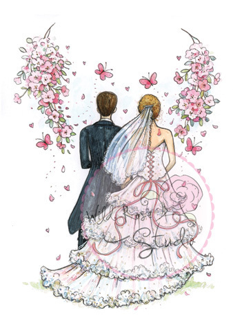 Wild Rose Studio - AT THE ALTAR Clear Stamp