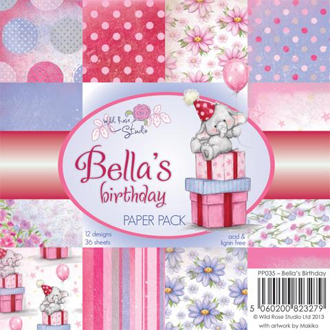 Bella's Birthday 6 x 6 Paper Pack