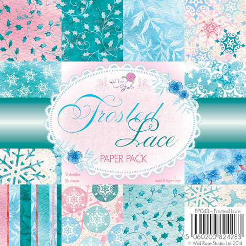 FROSTED LACE 6x6 Paper Pack