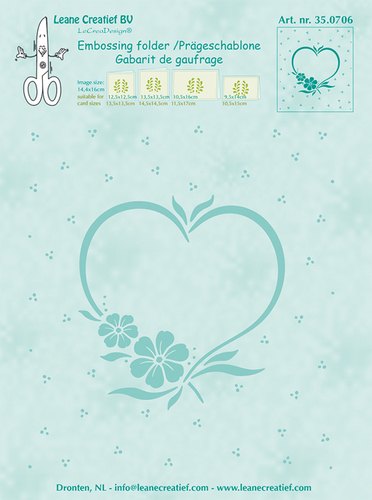 Lea'bilities - Frame Blossom Heart