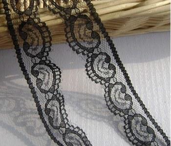 Black Soft Yarn Lace
