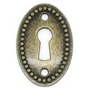 Oval Antique Keyholes